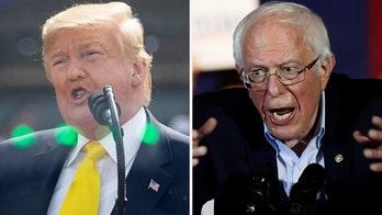 Trump visits India as Sanders reinforces frontrunner status in Nevada