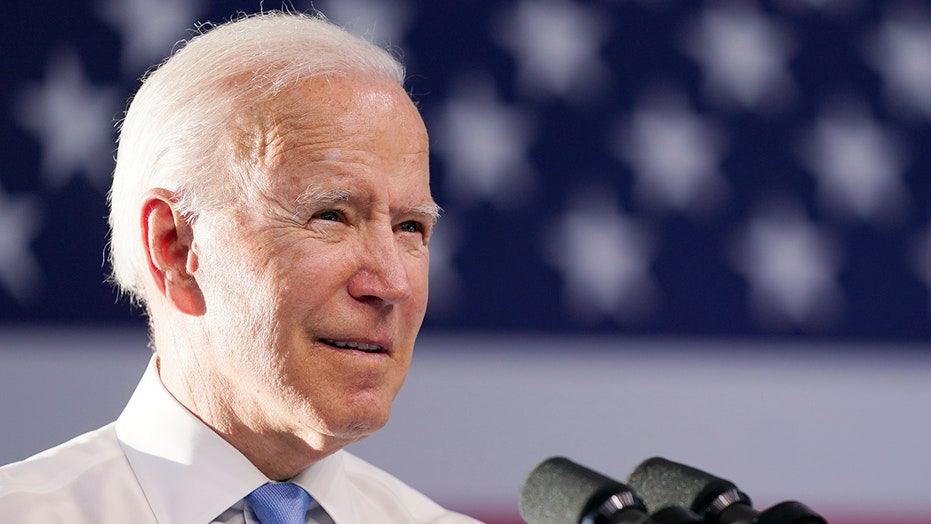 Biden says 'everybody is frustrated' as agenda stalls in Congress amid Dem division