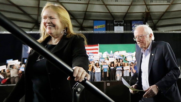 Sanders campaign accused of funneling money to wife's media company for decades