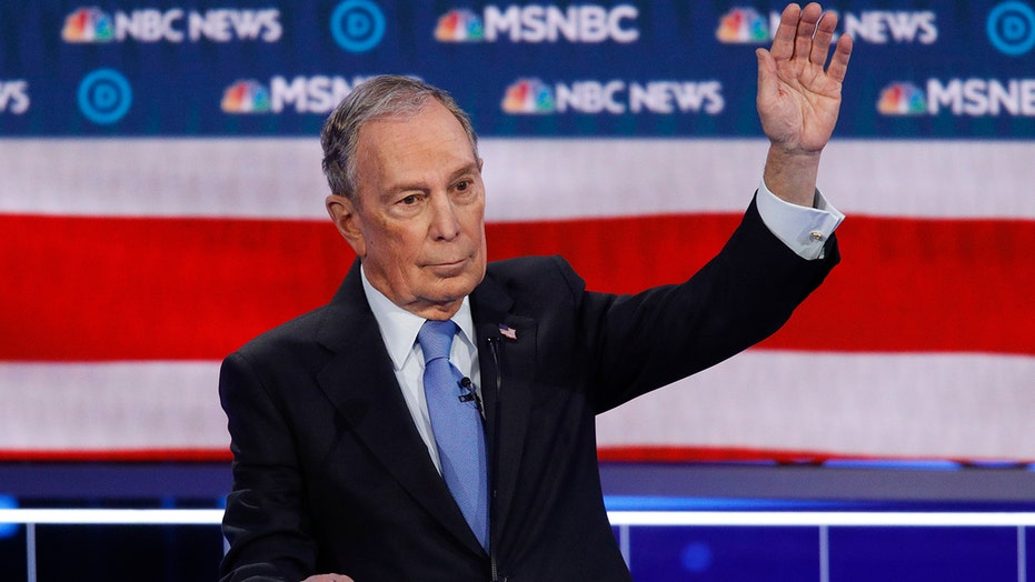 Billionaire Bloomberg joins his fellow 2020 Democrats on the debate stage