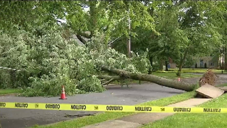 Four dead after powerful storms sweep through Northeast
