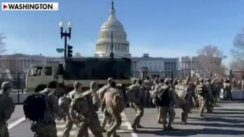 Largest security presence in DC history for Inauguration Day