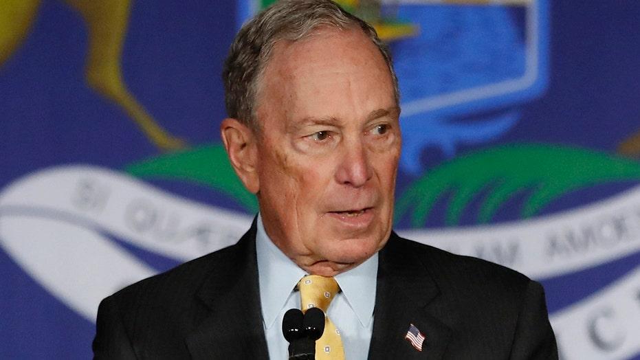 Democratic presidential rivals batter Mike Bloomberg ahead of Las Vegas debate