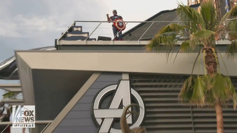 Avengers Campus preview shows off web slinging Spider-Man, Dr Strange and more ahead of opening