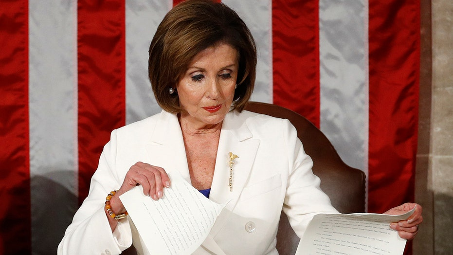 Twitter reacts to Pelosi ripping up Trump SOTU speech