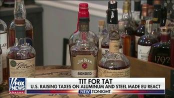 European Union threat to raise taxes on US alcohol