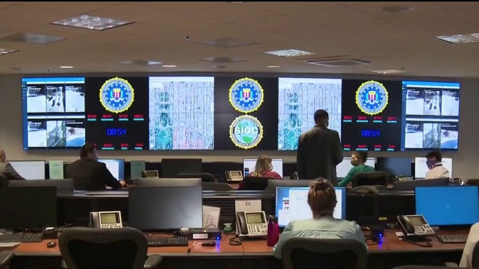 Inside the FBI's operations center, where agents are monitoring vandalism to federal property | Fox News