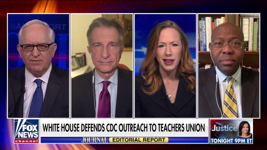 Pandemic shows 'just how much power' teachers unions have: Jason Riley