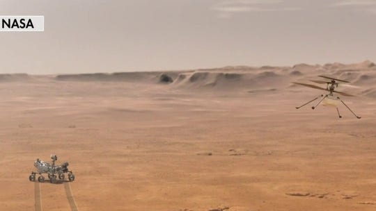 NASA to attempt first controlled flight on Mars