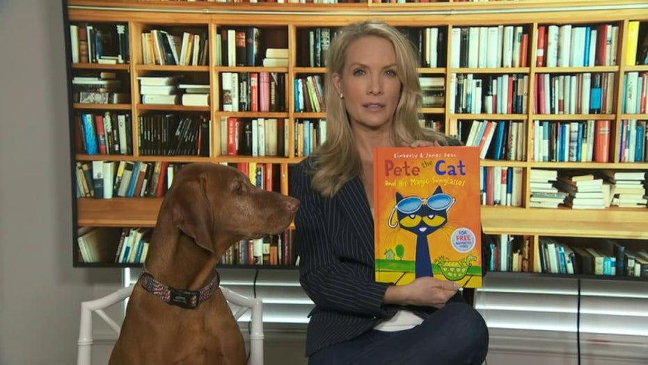 Dana reads 'Pete the Cat and His Magic Sunglasses'