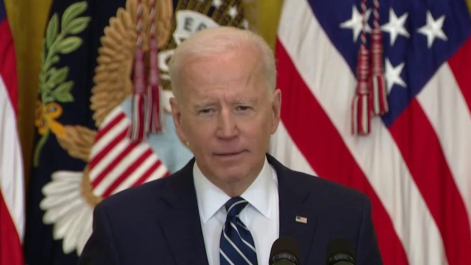 Biden echoes Obama claims that Senate filibuster is 'relic of the Jim Crow era'