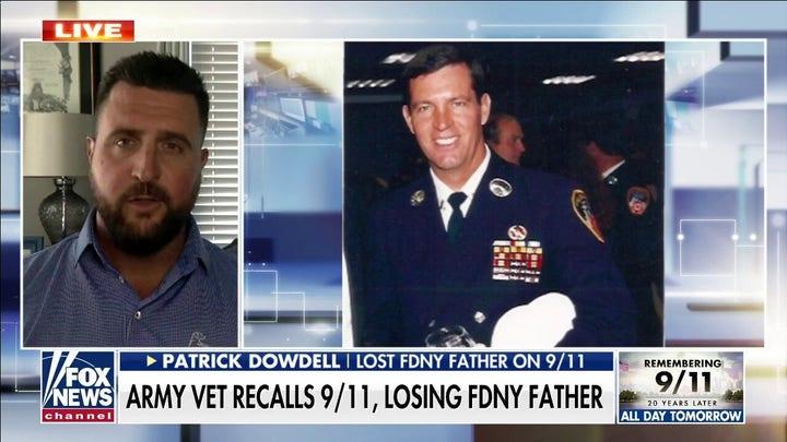 Army veteran recalls 9/11, losing FDNY father