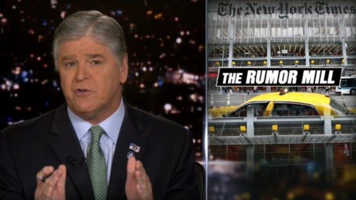 Hannity slams media for not holding Biden accountable