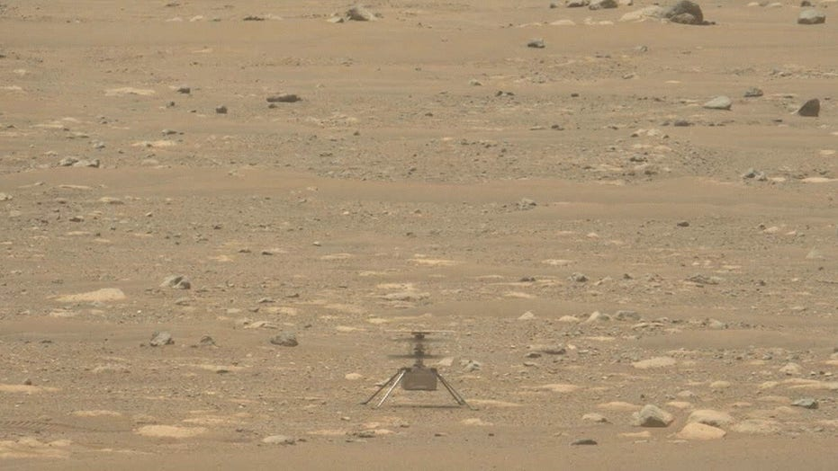 NASA releases audio of Mars helicopter in flight