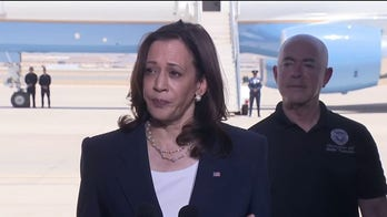 Kamala Harris heads to L.A. home after long-awaited border visit