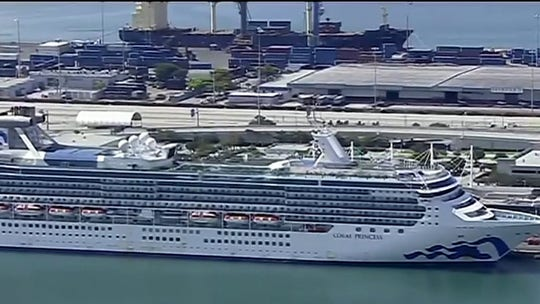 COVID-19 travel restrictions cause nightmare for Coral Princess cruise passengers