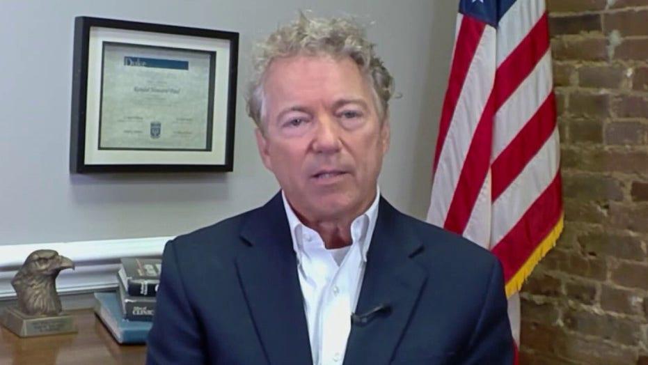 Rand Paul knocks Biden on 'terrible' Afghanistan withdrawal, says we stayed 'too long'
