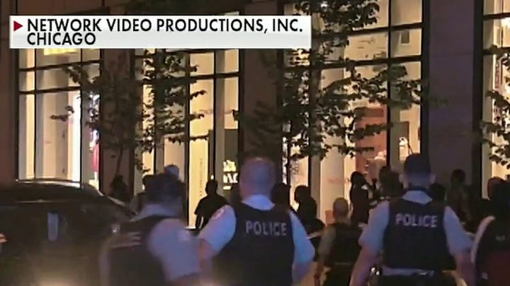 Looters overwhelm Chicago police in night of unrest after police-related shooting