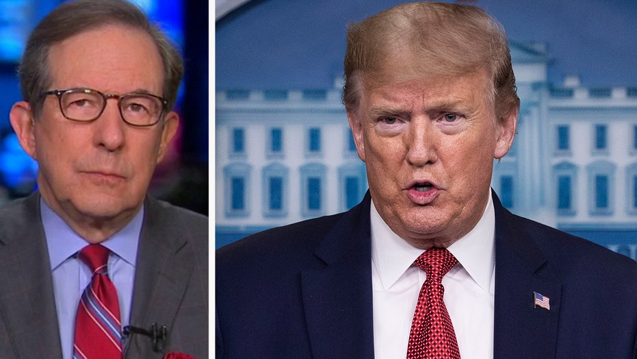 Chris Wallace on Trump's new guidelines for reopening economy