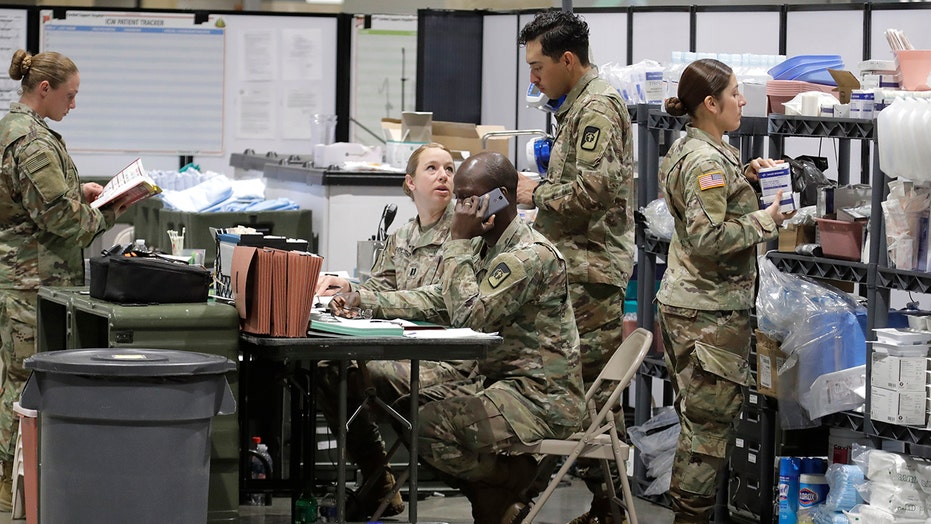 How is the US military helping fight the coronavirus pandemic?