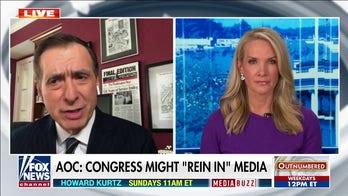 Howard Kurtz blasts AOC push for Congress to 'rein in' media