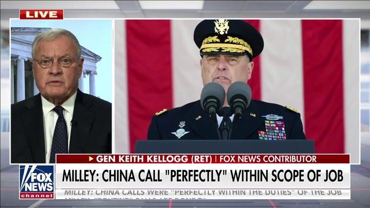 根. Kellogg: 'Just not true' for Milley to suggest was Trump was out of control