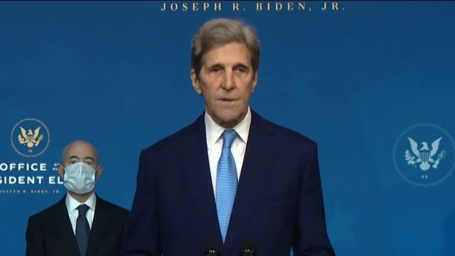 Kerry says coal workers  fed 'false narrative' that climate policies are killing their jobs