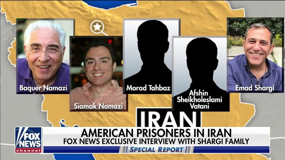 Americans held hostage by Iran are human bargaining chips, family says