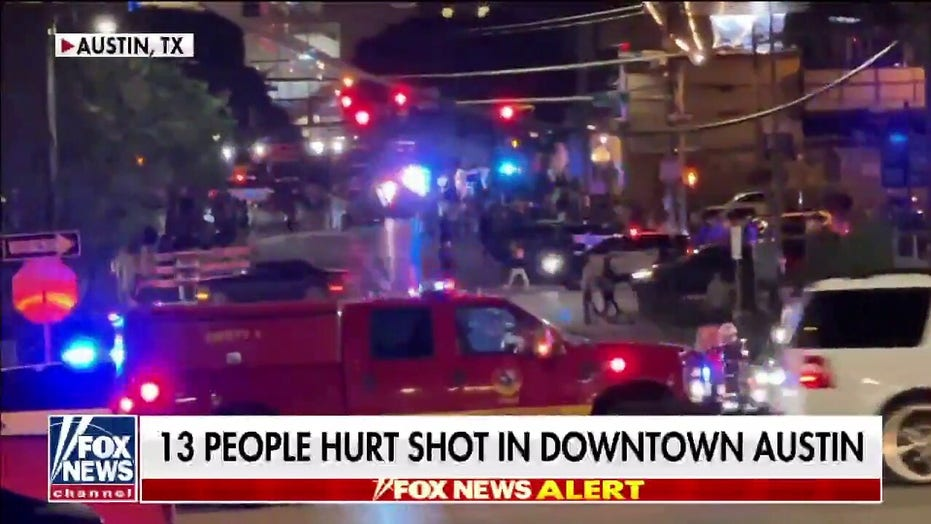 Austin mass shooting: Police hunt 2 suspects after 14 injured in downtown entertainment district