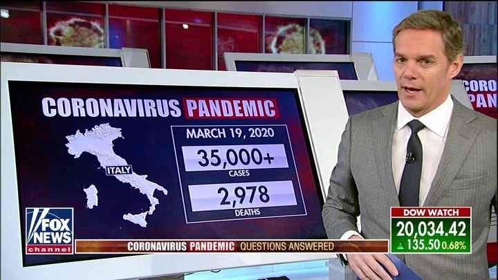 Bill Hemmer tracks COVID-19 pandemic: The problem for Italy