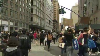 Peaceful protests overshadowed by acts of violence
