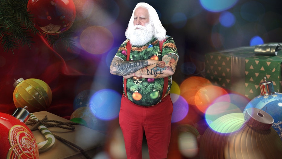 Meet New Yorker who literally became Santa Claus