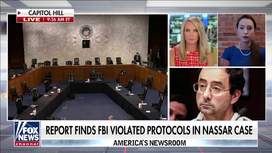 DOJ reviewing decision not to prosecute FBI agents in Nassar case