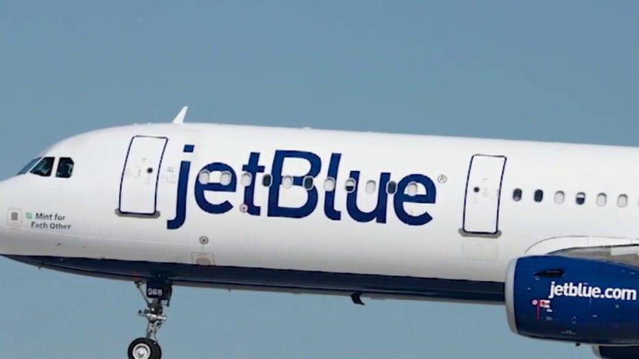 JetBlue passenger arrested on drug charges after 'erratic' behavior forces emergency landing