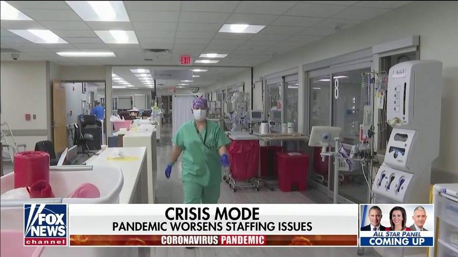 Hospital staff struggling as coronavirus hospitalizations spike