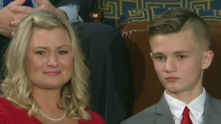 President Trump invites wife of soldier killed in Iraq to State of the Union address