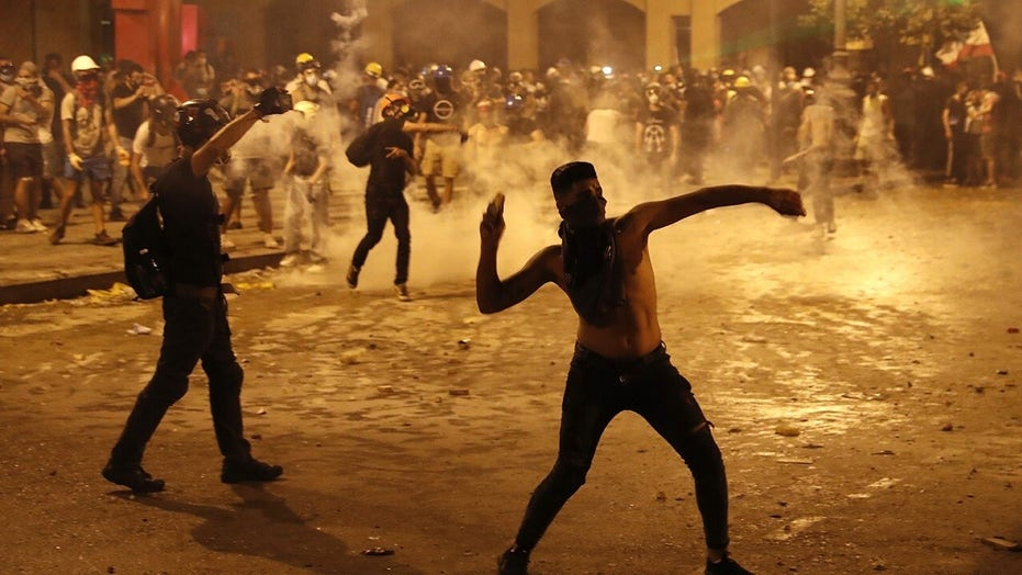 Protesters demand justice over deadly explosion in Beirut