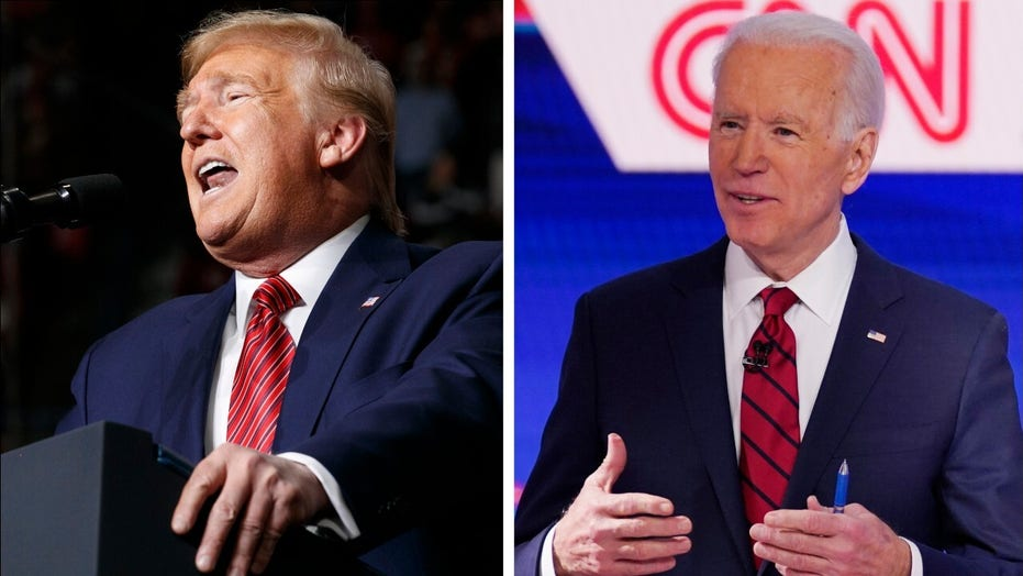 Fox News Poll: Biden leads Trump in head-to-head