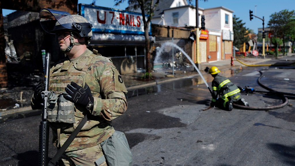 Nearly a dozen states call in National Guard as riots continue across US