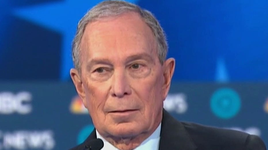 Mike Bloomberg reveals 'real winner' of Democratic presidential debate in Las Vegas