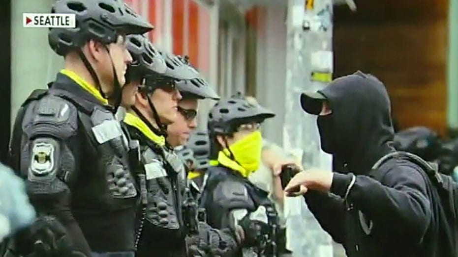 Seattle riot results in 18 arrests, 3 officers injured