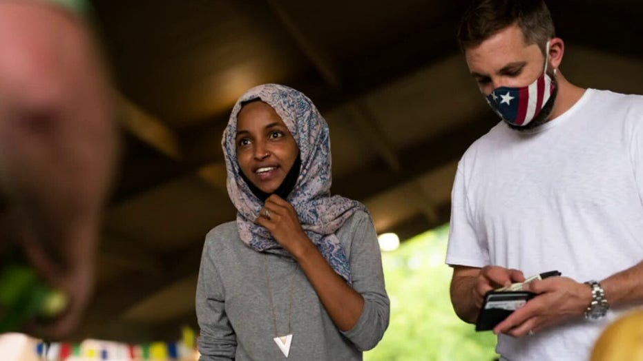 Media ignores firm owned by Omar's husband receiving more than $600G in COVID relief, millions from campaign