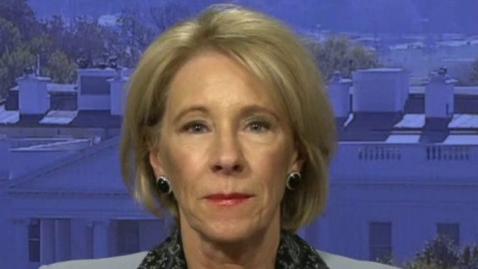 Betsy DeVos rips Democrats who push free college tuition: 'We know somebody has to pay for it'