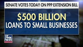 Senate to vote on $500 billion PPP extension for struggling businesses