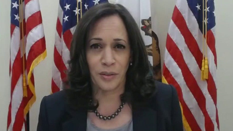 Sen. Kamala Harris presses Judge Amy Coney Barrett on climate change
