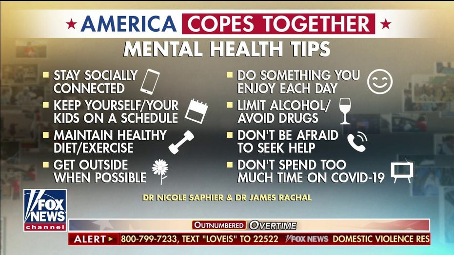 Top mental health tips to cope with COVID-19