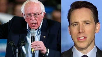 Sen. Hawley: Nominating Sanders would be a 'disaster' for the Democrat Party