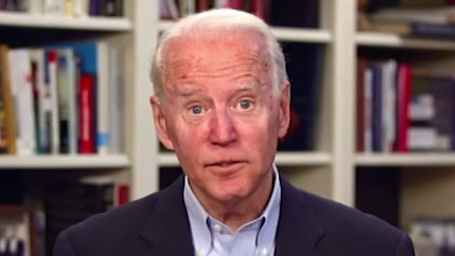 Biden, at first virtual event as presumptive nominee, says he's 'coming for' Kamala Harris