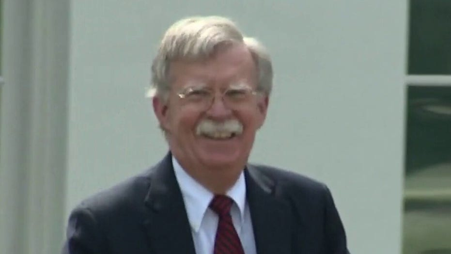 DOJ sues John Bolton in federal court to block publication of upcoming book