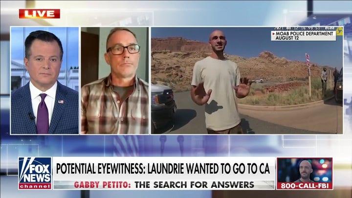 Hiker claims he saw Brian Laundrie near Appalachian Trail days ago